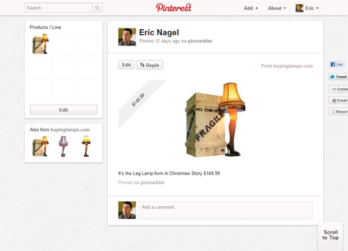 Leg Lamp on Pinterest